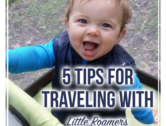 5 Tips for Traveling with Little Roamers